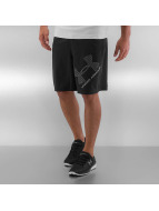 Under Armour shorts Heatgear Woven Graphic zwart
