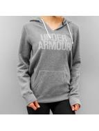 Under Armour Sweat à capuche Favorite Fleece gris