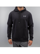Under Armour Sweat à capuche Storm Rival Cotton noir