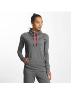 Under Armour Featherweight Fleece High Neck Sweatshirt Carbon Heather/Marathon Red/Marathon Red
