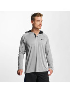 Under Armour Sweat capuche Tech Popover gris