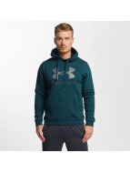 Under Armour Sweat capuche Rival vert