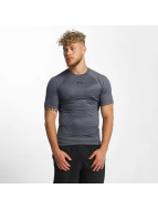 Under Armour T-paidat Heatgear Printed Shortsleeve Compression harmaa