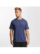 Under Armour T-paidat Charged Cotton Left Chest Lockup sininen