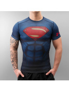 Under Armour t-shirt Alter Ego Superman blauw
