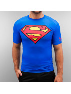 Under Armour t-shirt Alter Ego Superman Compression blauw
