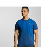 Under Armour t-shirt Left Chest Spray Gradient blauw