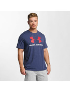 Under Armour T-Shirt Charged Cotton bleu