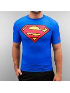 Under Armour T-shirt Alter Ego Superman Compression blu