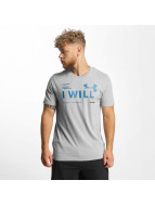 Under Armour T-Shirt I Will grau