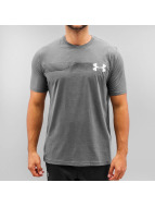 Under Armour t-shirt Fast Left Chest grijs