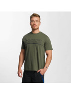 Under Armour t-shirt Woodmark Lock Up groen