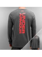 Under Armour T-Shirt manches longues Vertical gris