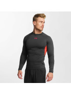 Under Armour T-Shirt manches longues Heatgear gris