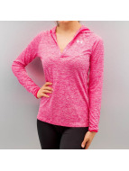 Under Armour T-Shirt manches longues Tech Twist magenta