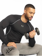 Under Armour T-Shirt manches longues Heatgear Compression noir