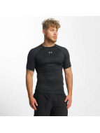 Under Armour T-Shirt Heatgear Printed Shortsleeve Compression schwarz