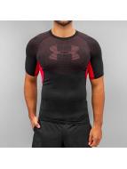 Under Armour t-shirt Heatgear Armour Graphic zwart