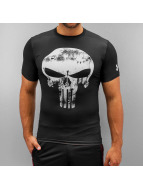 Under Armour t-shirt Alter Ego Compression Punisher zwart