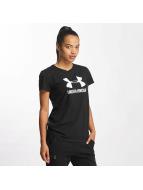 Under Armour t-shirt Sportstyle Crew zwart