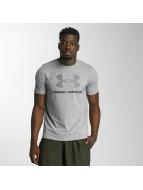 Under Armour T-skjorter Charged Cotton Sportstyle Logo grå