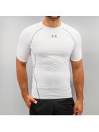 Under Armour T-skjorter Heatgear Compression hvit