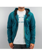 Under Armour Zip Hoodie Storm AF Icon blau