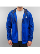 Under Armour Zip Hoodie Storm AF blau