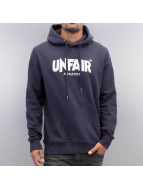 UNFAIR ATHLETICS Sweat à capuche Classic Label bleu