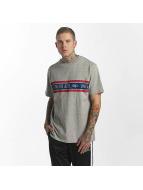 UNFAIR ATHLETICS T-Shirt Athl. Striped grau