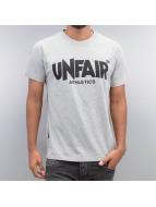 UNFAIR ATHLETICS t-shirt Classic Label grijs