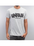 UNFAIR ATHLETICS T-Shirt Classic Label gris