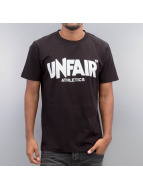 UNFAIR ATHLETICS T-Shirt Classic Label noir