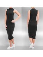 Urban Classics Šaty Stretch Jersey Turtleneck èierna