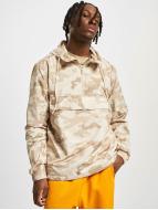 Urban Classics Демисезонная куртка Camo Pull Over камуфляж