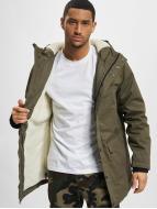 Urban Classics Зимняя куртка Heave Cotton оливковый