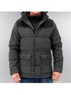 Urban Classics Зимняя куртка Material Mixed серый