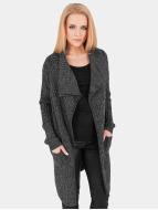 Urban Classics Кардиган Knitted серый
