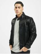 Urban Classics Кожаная куртка Suede Imitation черный