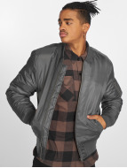 Urban Classics Куртка-бомбардир Basic Bomber серый