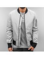 Urban Classics Куртка-бомбардир 2-Tone Bomber серый