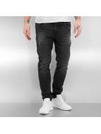 Urban Classics Облегающие джинсы Ripped черный