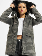 Urban Classics Пальто Overdyed Camo камуфляж