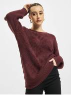 Urban Classics Пуловер Basic Oversized красный