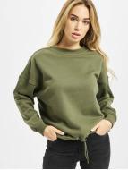 Urban Classics Пуловер Ladies Oversized оливковый