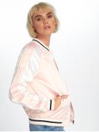 Urban Classics Университетская куртка 3 Tone Souvenir розовый