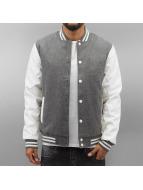Urban Classics Университетская куртка Oldschool серый