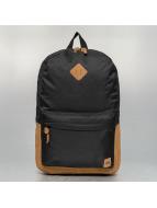 Urban Classics Batohy Leather Imitation èierna