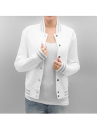 Urban Classics Blouson Teddy Ladies Metallic blanc
