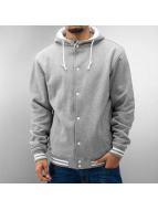 Urban Classics Blouson Teddy Hooded gris